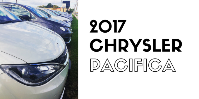 2017 Chrysler PacificaOverview