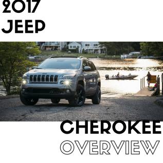2017 Jeep CherokeeOverview