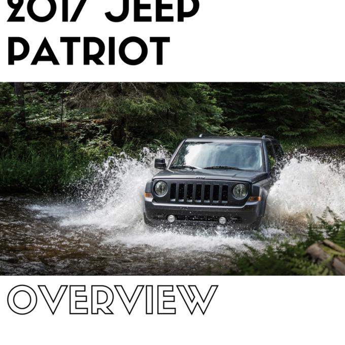 2017 Jeep PatriotOverview