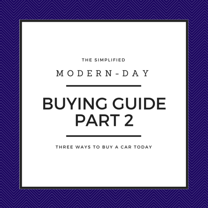 The Simplified Modern-Day Buying Guide: Part2
